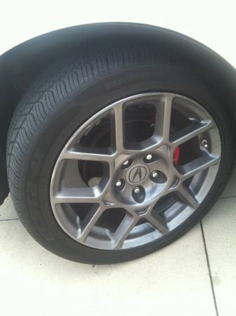 TL type S wheels with tires - $950