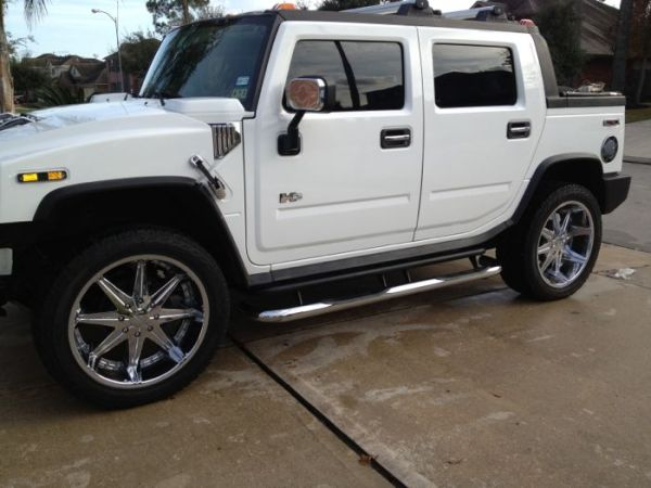 4 DUB 24 Inch The Big Homie 8 Lugs For Hummer H2 Chevy 25003500 W Scorpi - $2500 (Humble Tx)