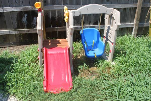 Little Tikes Swing Along Castle - $75 (Galveston)