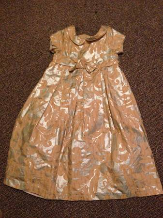 Dress silver and gold -   x0024 15  Santa fe