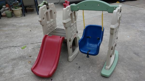 Little Tikes Swing Along Castle - $100 (Santa Fe)