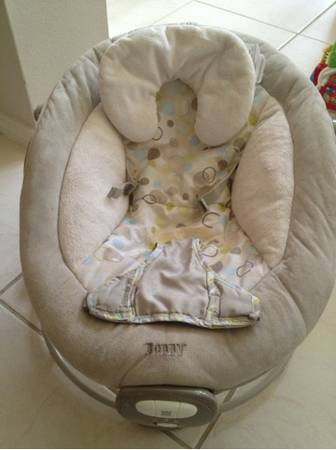 Boppy vibrating and soothing sounds seat - $15 (League city)