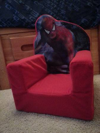 Spiderman toddler chair -   x0024 3  La Marque