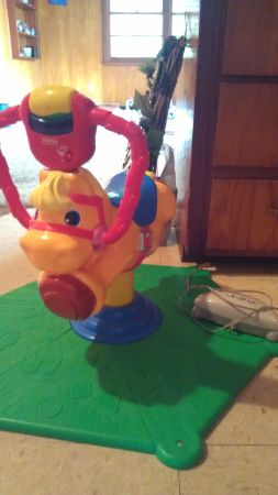 Fisher Price Lite Up Interactive wTV Galloping Horse $30 - $30 (Santa Fe)