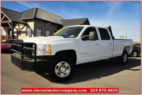 2009 Chevrolet Silverado 3500HD 4WD Crew Cab 167 LTZ with MP3 Player - $37995 (West Texas)