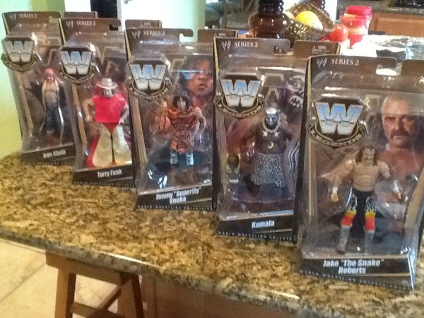WWE Wrestling Action Figures 5 qty NIB Series 2 - $65 (League City)