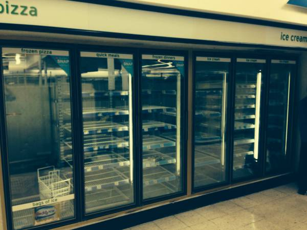 6 door walk in cooler or walk in freezer complete unit - $4900 (houston pasadena)