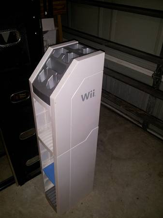 Wii storage tower - $30 (Bay Colony)