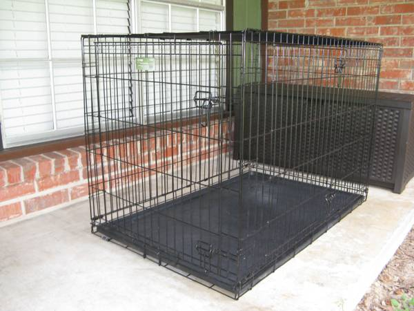 XL Double Door Dog Crate - $50 (Santa Fe)