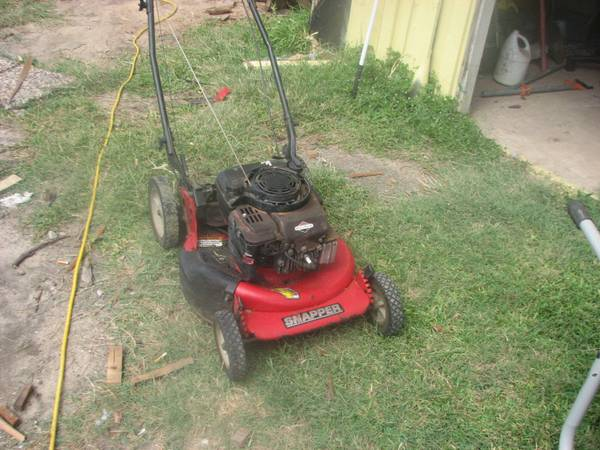 21 Commercial Snapper SP Mower - $125 (Hitchcock)