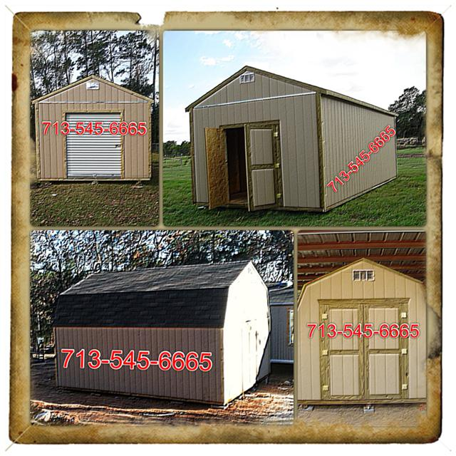 $2,000, Wood Storage Sheds built on your property