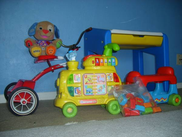 Educational toys  beginner desk  tricycle -   x0024 5  galveston