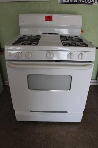 199  Appliances For Less     GE White Gas Stove