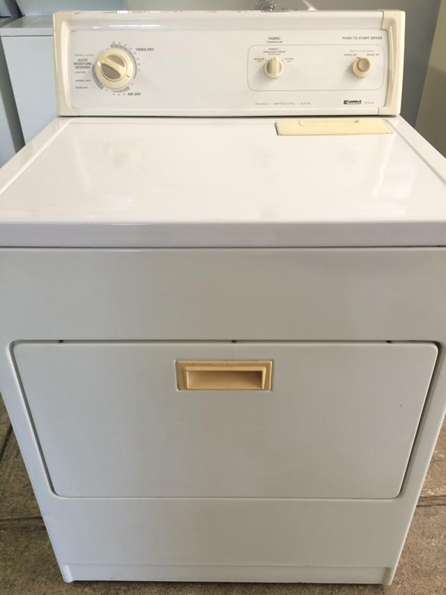 200  Kenmore 80 Series Electric Dryer in White