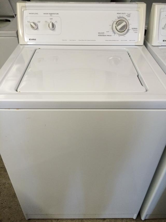 220  Kenmore Washer in White
