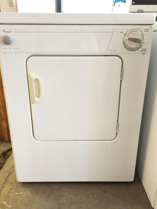 250  Whirpool 110V Electric Dryer in White