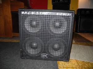BASS CAB GK GALLIEN KRUEGER BACKLINE 410 BLX 4x10 BASS SPEAKER CABINE - $200 (League City, TX)