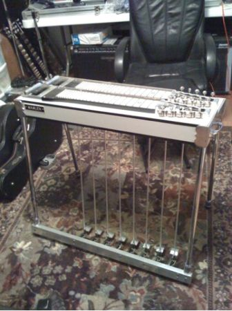 Pedal Steel Guitar- 1966 Marlen double neck - $800 (Dickinson)