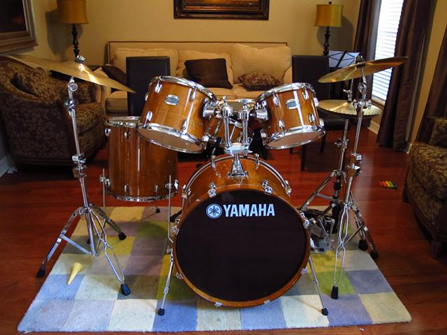 Yamaha Stage Custom Birch 5-Piece Shell Pack with 22 Bass Drum Honey Amber $1450 Richmond