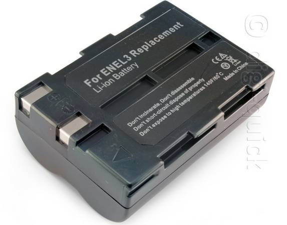 New Battery for Nikon D100, D50, D70, D70s - $10 (Friendswood)