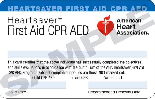 American Heart Association CPR  BLS Education