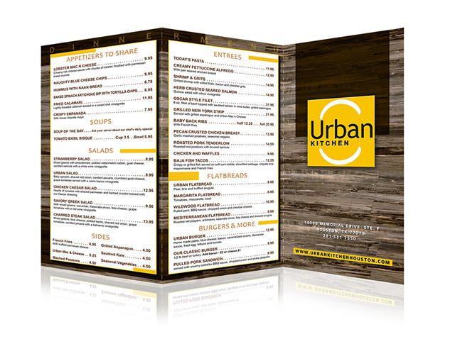 Menu  Graphic Design Services menu designer