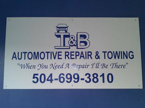 I B AUTO REPAIR AND TOWING (EAST WEATBANK)
