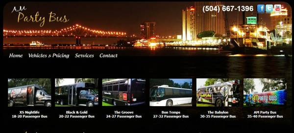 Sizzlin  Summer Specials on Party Buses   New Orleans  North Shore  Baton Rouge