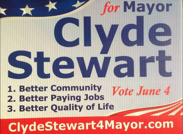 VOTE FOR CLYDE ON JUNE 4TH    Hattiesburg