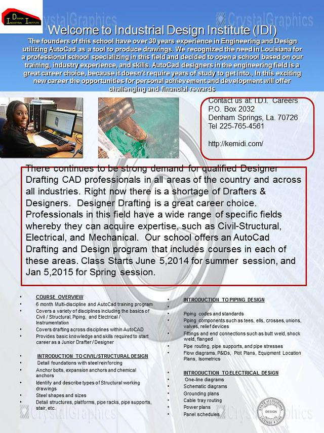 Auto Cad Design Training in Civil Structure  Piping  and Electrical