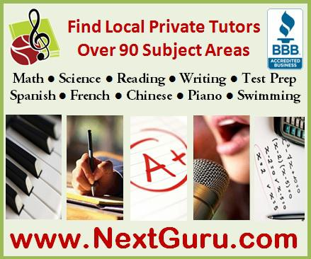 Find best private tutors for Math  Science  Music  Language Instantly
