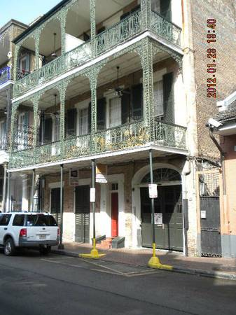 -  1500   2br - 1050ft sup2  - My French Quarter for Key West or Charleston  New Orleans
