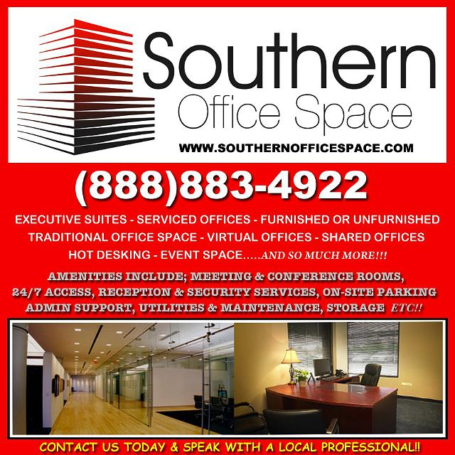 Executive Suites and Furnished Office Space for Rent - Move In Ready  Available NOW