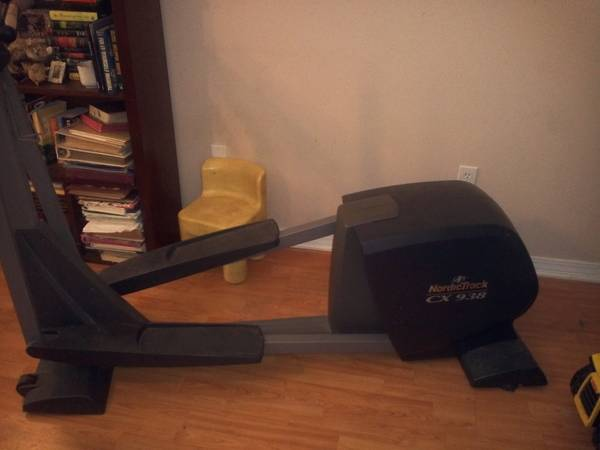 Nordic Track CX 938 Rear Drive Elliptical Trainer (180 or best offer) - $180 (Gulfport, Ms.)