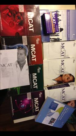 The Princeton Review MCAT study books and a little lagniappe - $250