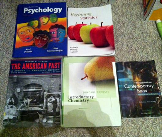 College Books for sell and Iclicker