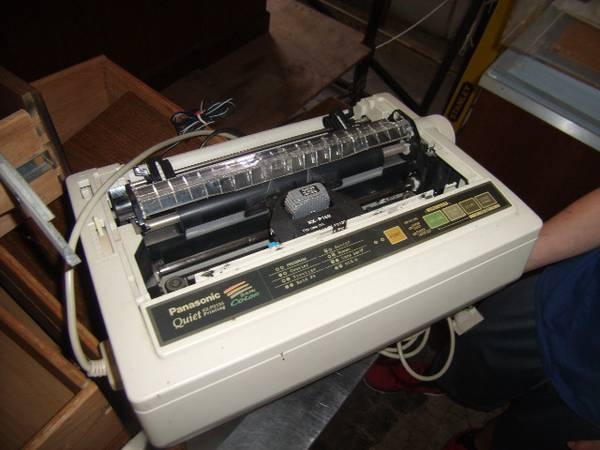 DOT Matrix Printer  - x002420 (The Regional Military Museum)