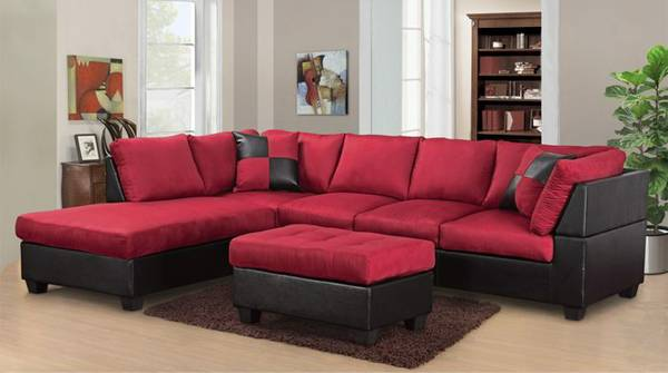 Out of Business New Sectional and Two Designer Pillows Brand New  - $499 (New Orleans -Metairie Area)
