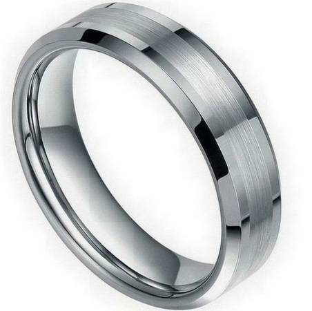 ENGAGEMENT BANDS WITH Stainless Steel AND STONES -  75  Houma