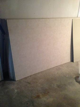 13 sheets Vinyl covered sheetrock gypsum drywall -   x0024 5  Thibodaux