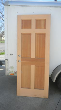 2 DOORS FOR SALE WOODEN AND METAL - $250 (HOUMA, LA)