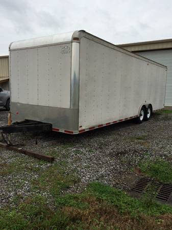 2006 ENCLOSED TRAILER 28FT  -   x0024 8000  HOUMA