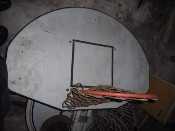 Basketball Goal - x002420 (The Regional Military Museum)