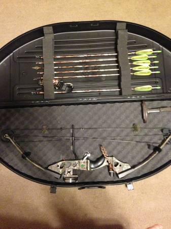 PSE Spyder compound bow - $300 (Morgan City, La)