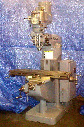 5 900  Reconditioned 1-12 Hp Bridgeport Milling Machine Nice Machine