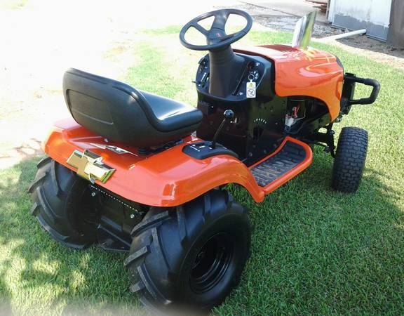 UPDATED tractor pull riding mower trade for 28 rims or dub floaters - $2000 (avoyelles parish)