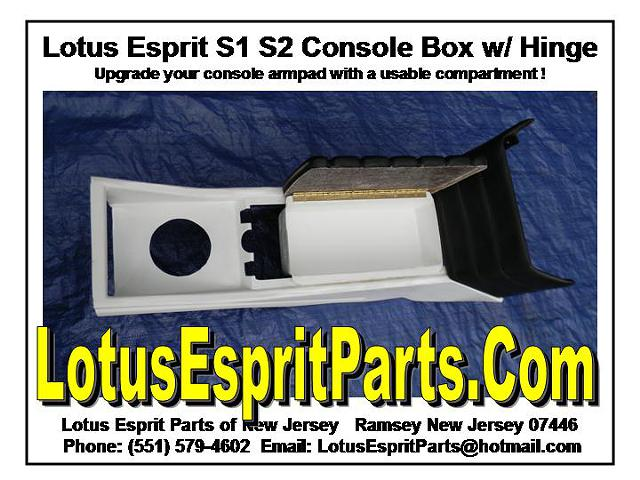 130  Lotus Esprit S1 S2 Console Upgrade  NEW