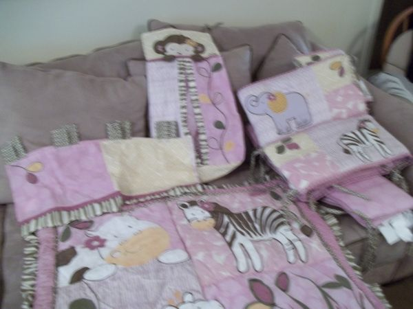CoCalo Jacana 6 piece Crib bedding set - $80 (thibodaux)