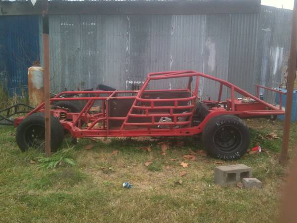 Chevy dirt track race car frame - $1000 (Franklin L.A.)