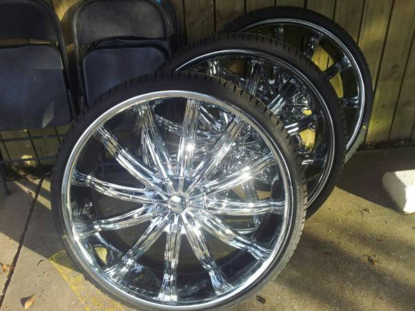 new 28 inch rims and tires - $2500 (morgan city)